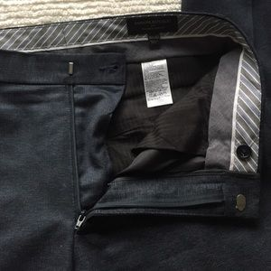 Flecked Navy Men's Banana Republic Dress Pants